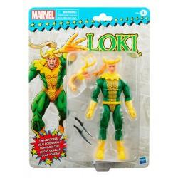 Figura Loki Marvel Legends Retro Hasbro