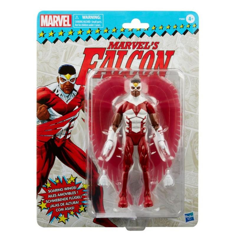 Figura Falcon Marvel Legends Retro Hasbro