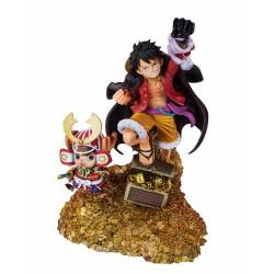 Estatua Monkey D. Luffy Daikaizoku Hyakkei One Piece Figuarts Zero