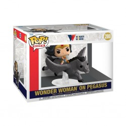 Imagén: Figura Wonder Woman y Pegaso 80 Aniversario Pop Funko 280 Rides