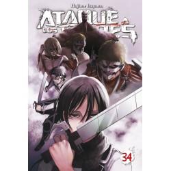 Ataque a los Titanes 34 Edición Especial