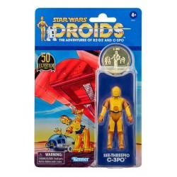Figura C-3PO Star Wars Droids Vintage Collection Hasbro