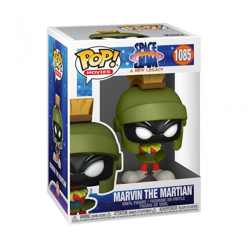 Figura Marvin The Martian Space Jam 2 Pop Funko Movies 1085