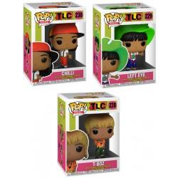 Set 3 Figuras TLC Pop Funko Rocks