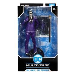 Figura Joker The Criminal Batman Tres Jokers DC Multiverse McFarlane Toys