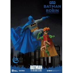 Pack 2 Figuras Batman y Robin Dynamic 8ction Heroes The Dark Knight Returns Beast Kingdom