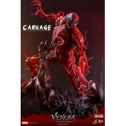 Figura Carnage Venom Habrá Matanza Movie Masterpiece Hot Toys Escala 1/6