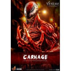 Imagén: Figura Carnage Deluxe Venom Habrá Matanza Movie Masterpiece Hot Toys Escala 1/6