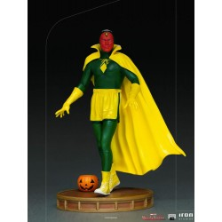 Estatua Visión Halloween Version Wandavision Escala 1:10 Art Scale Iron Studios