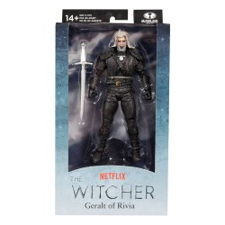 Figura Geralt De Rivia Kikimora Battle The Witcher Netflix McFarlane Toys