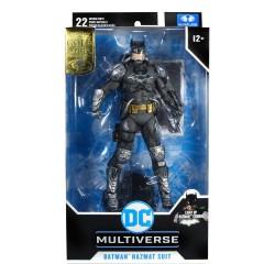 Figura Batman Hazmat Suit Gold Label Light Up Batman Symbol  DC Multiverse McFarlane Toys