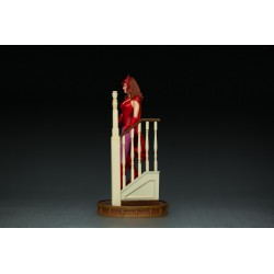 Set Estatuas Visión y Wanda Halloween Version Wandavision Escala 1:10 Art Scale Iron Studios