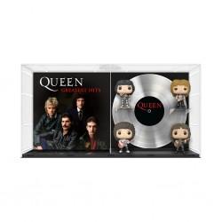 Pack 4 Figuras Queen Greatest Hits POP Funko DLX Vinyl