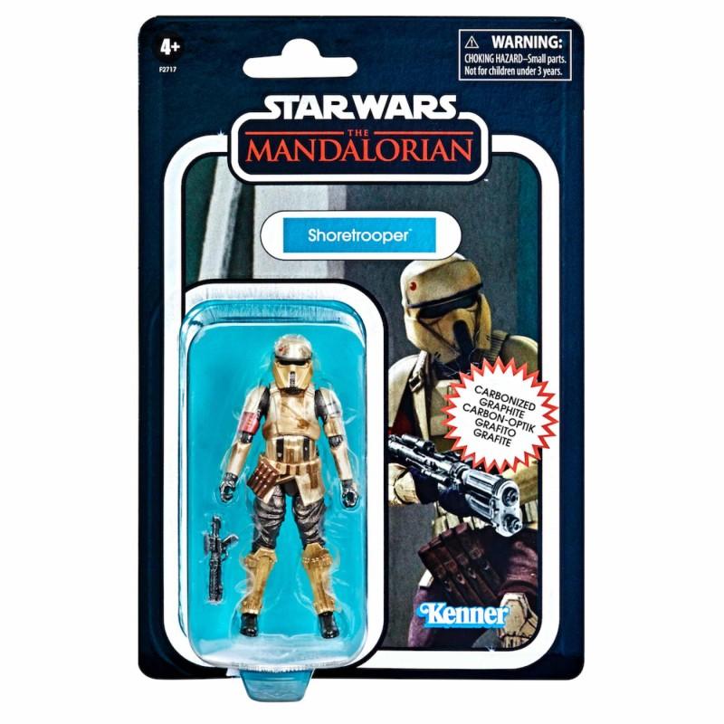 Figura ShoreTrooper Star Wars The Mandalorian Vintage Black Series Carbonized Collection Hasbro