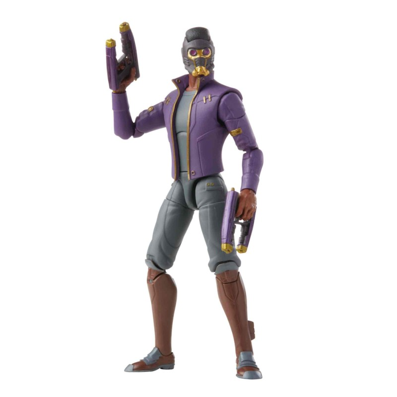 Figura T'Challa Star Lord Marvel Legends What If Hasbro