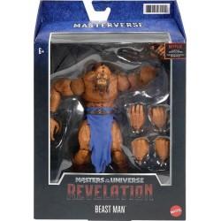 Figura Beast Man Masters Of The Universe Revelation Masters del Universo