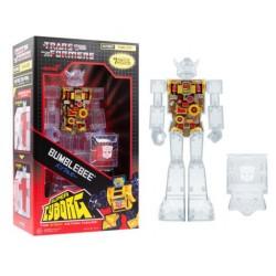 Figura Super Cyborg Bumblebee (Clear)  ReAction Super7