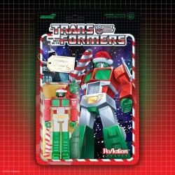 Figura Optimus Santa Transformers Christmas Navidad ReAction Super7