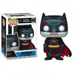 Figura Batman Día De Los Muertos DC POP Funko 409