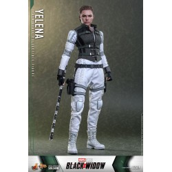 Figura Yelena Back Widow Escala 1:6 Hot Toys