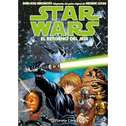 Star Wars Episodio VI El Retorno del Jedi Manga
