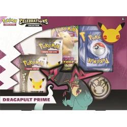 Pokemon Dragapult Prime Celebrations 25 Aniversario Caja Especial (Inglés)