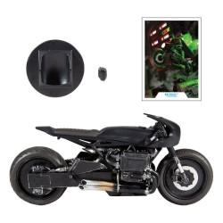 Batcycle Moto The Batman 2022 DC Multiverse McFarlane Toys