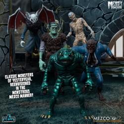 Mezco Monsters Tower Of Fear Deluxe Action Figure Box Set Mezco