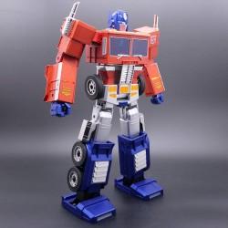 Transformers Robot interactivo autotransformable Optimus Prime Robosen