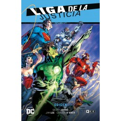 Liga De La Justicia 1: Origen Lj Saga Nuevo Universo DC Parte 1