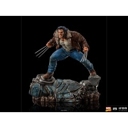 Estatua Lobezno Wolverine Logan Marvel Comics Art Scale 1/10 Iron Studios