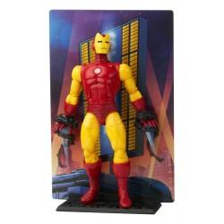 Figura Iron Man  20 Aniversario Marvel Legends Hasbro