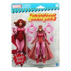 Figura Bruja Escarlata Scarlet Witch West Coast Avengers Marvel Legends Retro Hasbro