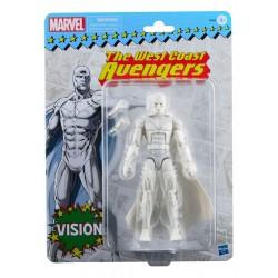 Figura Bruja Escarlata Vision West Coast Avengers Marvel Legends Retro Hasbro