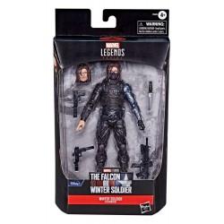 Figura Winter Soldier Flashback Falcon y el Soldado De Invierno Bruja Escarlata Vision Marvel Legends Hasbro