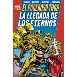 Imagén: El Poderoso Thor. La Llegada de los Eternos (Marvel Gold)