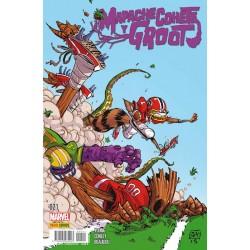 Mapache Cohete y Groot 21 Panini Comics