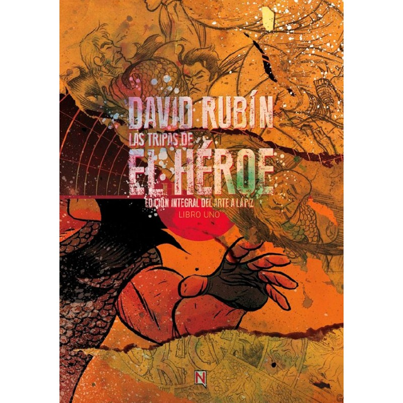 Las Tripas de El Héroe 1 Ninth Ediciones David Rubín