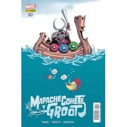 Mapache Cohete y Groot 22 Panini Comics
