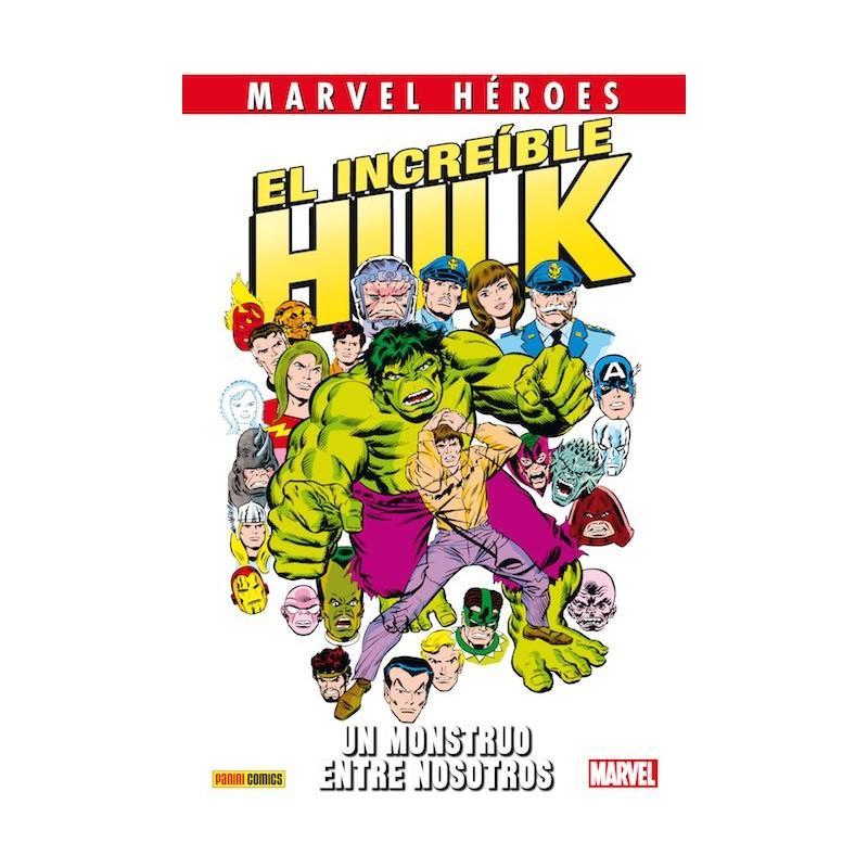 El Increíble Hulk. Un Monstruo Entre Nosotros (Marvel Héroes 63)