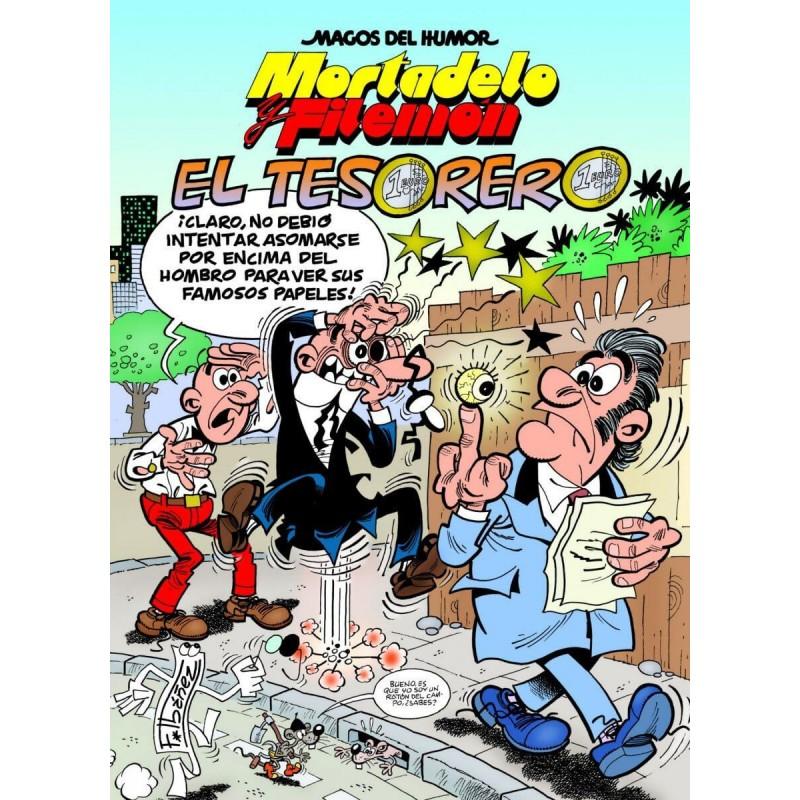 Magos del Humor 167. Mortadelo y Filemón. El Tesorero
