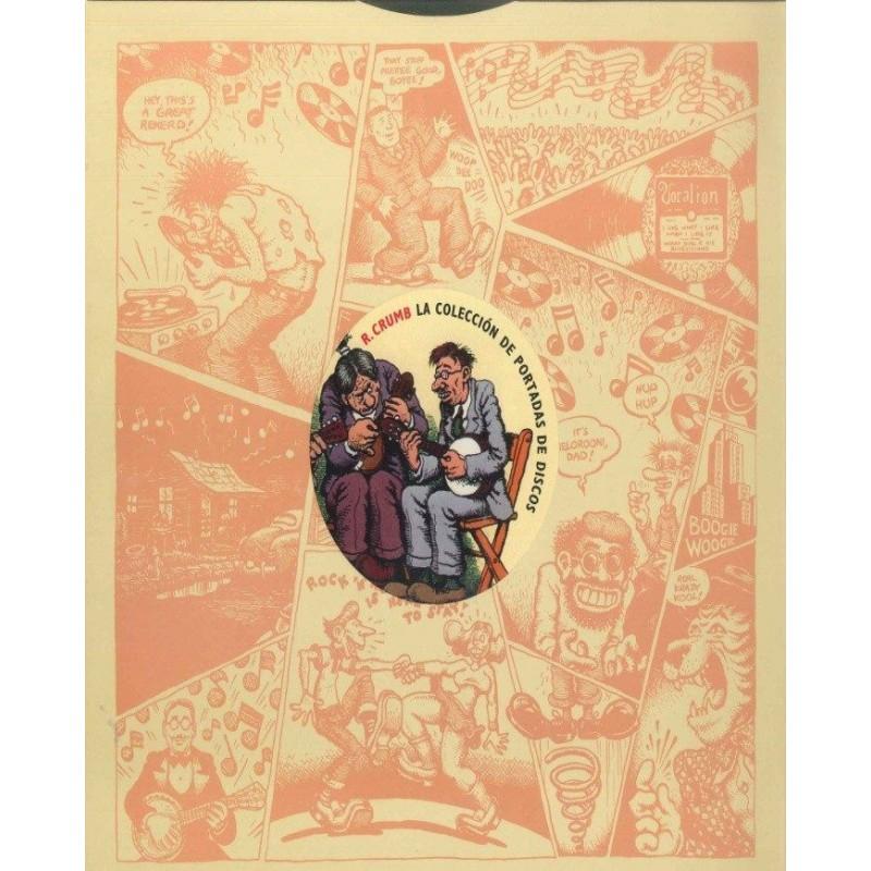 La Colección de Portadas de Discos de Robert Crumb