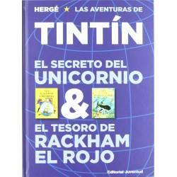 Tintín. El Secreto del Unicornio & El Tesoro de Rackham el Rojo