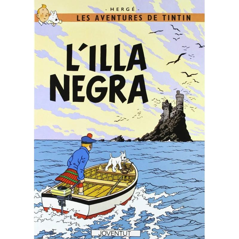 Tintín 7. L'Illa Negra Catalan