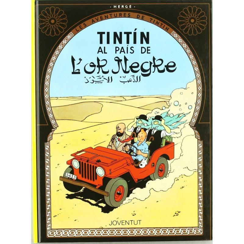 Tintín 15. Tintín al País de l'Or Negre (Català)