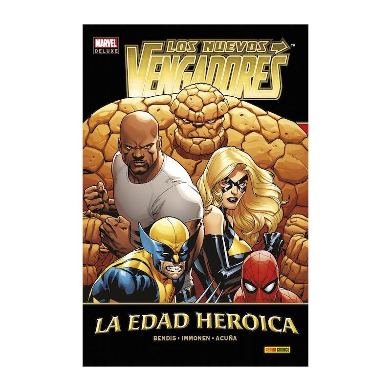 Los Nuevos Vengadores 14. La Edad Heroica (Marvel Deluxe)
