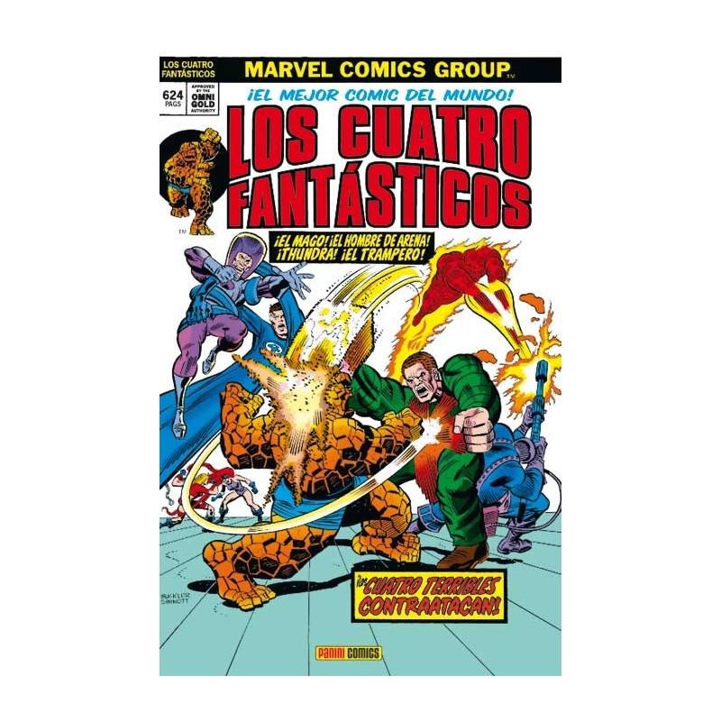Los 4 Fantásticos. Los 4 Terribles Contraatacan (Marvel Gold)