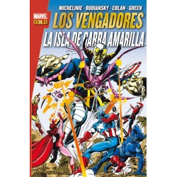 Los Vengadores. La Isla de Garra Amarilla (Marvel Gold)