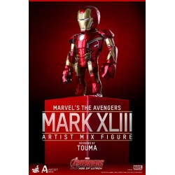 Figura Iron Man Mark XLIII Artist Mix Hot Toys Avengers