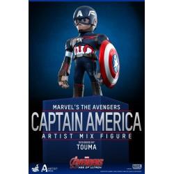 Figura Capitán América Artist Mix. Hot Toys